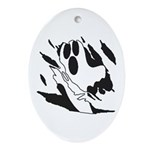 Ghost Ornament (Oval)