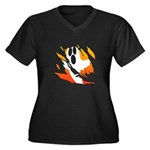 Ghost Plus Size T-Shirt