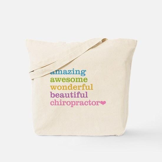 Funny Chiropractics Tote Bag