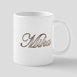 Gold Mika Mugs