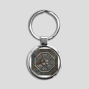 Lost Grunge Metal Keychains