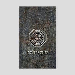 Lost Grunge Metal Sticker
