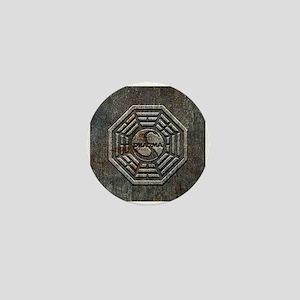 Lost Grunge Metal Mini Button