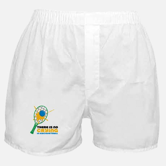 No Crying In Racquetball Boxer Shorts
