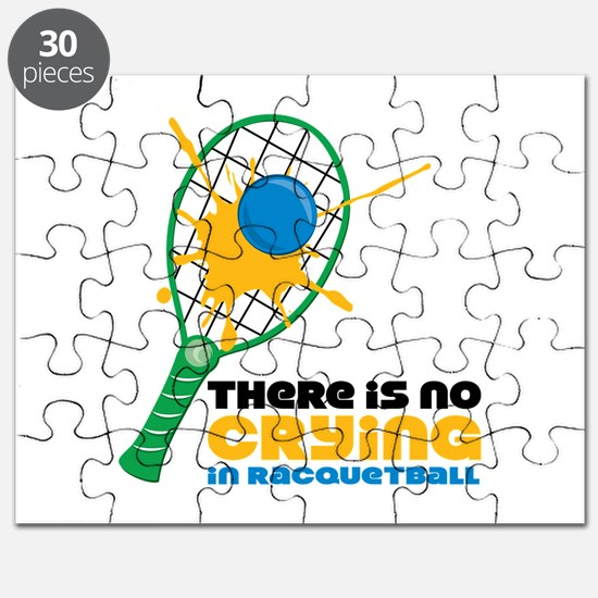 No Crying In Racquetball Puzzle
