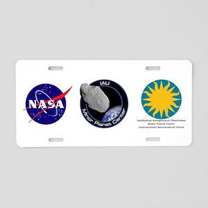 Minor Planet Center Aluminum License Plate