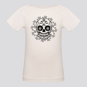 Sugar Skull Organic Baby T-Shirt
