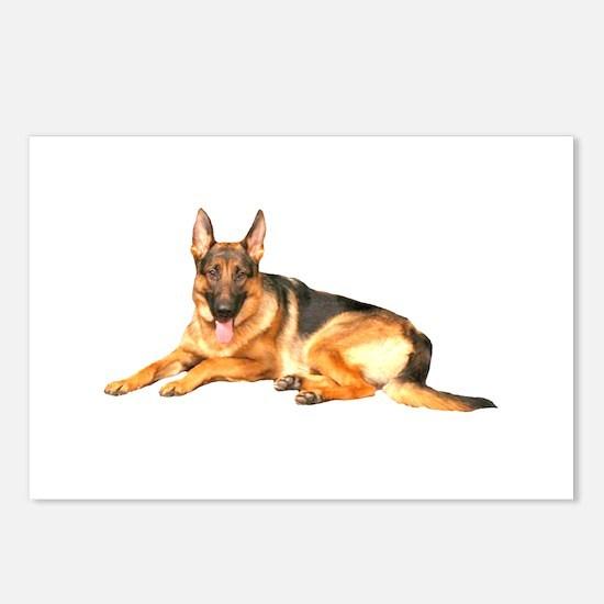 German Shepard Dog Postcards (Package of 8)