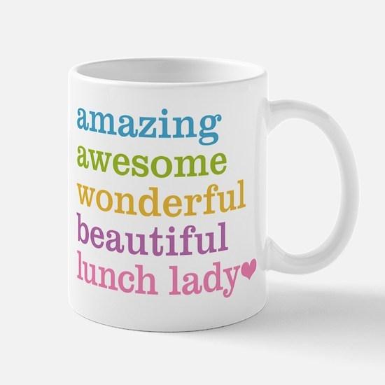 Amazing Lunch Lady Mugs