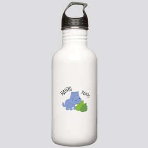 Rawr Dinosaur Water Bottle