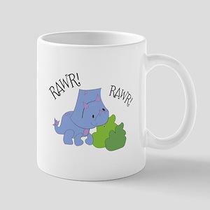 Rawr Dinosaur Mugs