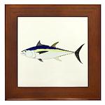 Longtail Tuna Framed Tile