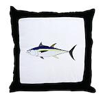 Longtail Tuna Throw Pillow