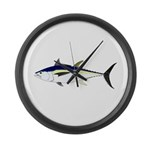 Longtail Tuna Large Wall Clock