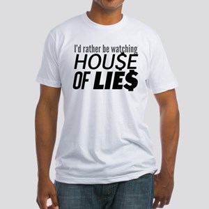 House of Lies Fitted T-Shirt