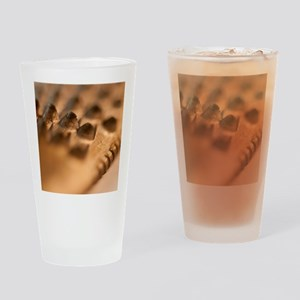 Golden Rasp File Drinking Glass