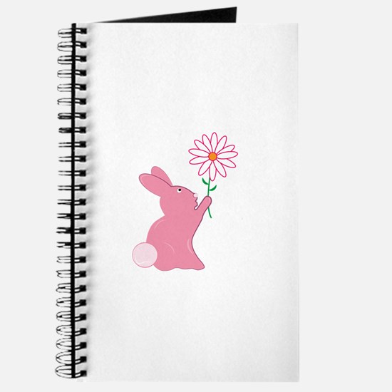 Bunny And Flower Journal
