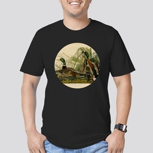 Audubon Mallard duck Bird Vintage Print T-Shirt