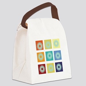 My Bright Photo Gallery Canvas Lunch Bag