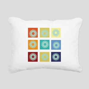My Bright Photo Gallery Rectangular Canvas Pillow