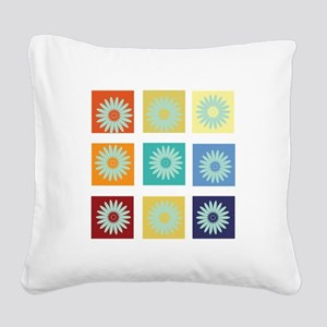 My Bright Photo Gallery Square Canvas Pillow