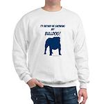 Showing Bulldog Blue Sweatshirt