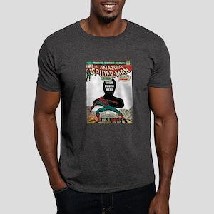 marvel comics personalized spider-man Dark T-Shirt
