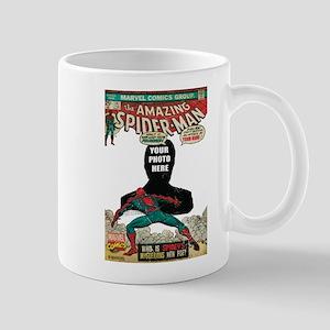 marvel comics personalized spider-man Mug