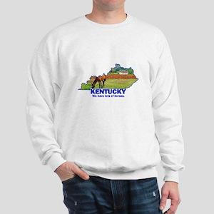 Kentucky . . . We Have Lots of Horses Sweatshirt