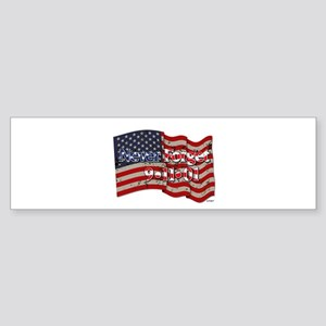 911 Never Forget American Flag Sticker (Bumper)