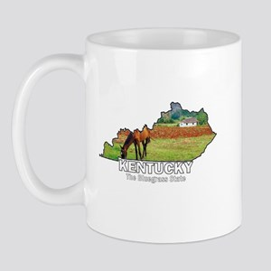 Kentucky . . . The Bluegrass Mug