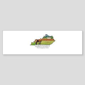 Kentucky . . . The Bluegrass Bumper Sticker