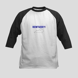 Kentucky! Kids Baseball Jersey