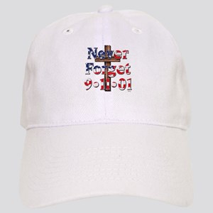 Never Forget 911 With Cross Cap