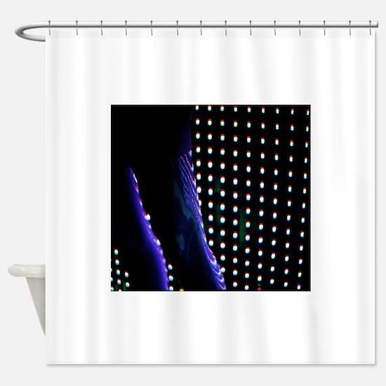 Futuristic Shower Curtain