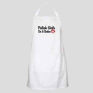 Polish Girls Do It Better BBQ Apron