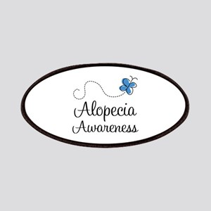 Alopecia Awareness blue butterfly Patches