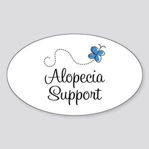 Alopecia Support Sticker (Oval)
