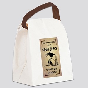 CROW JERKY Canvas Lunch Bag