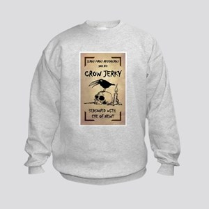 CROW JERKY Kids Sweatshirt