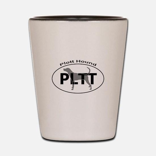 PLOTT HOUND Shot Glass