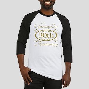 30th Wedding Anniversary Baseball Jersey