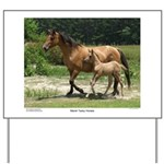Marsh Tacky Horses Yard Sign