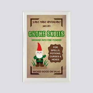 GNOME SKULLS Rectangle Magnet