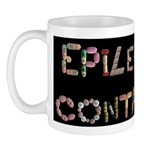 Epilepsy Is Not Contagious Black Mugs