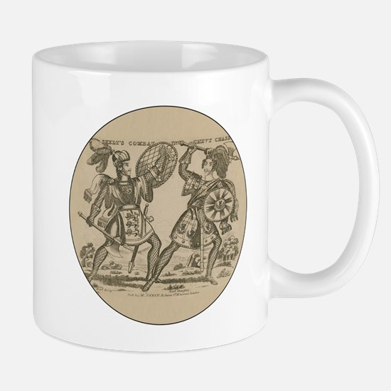 Medieval Knights Swords and Armor Mugs