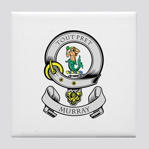 MURRAY Coat of Arms Tile Coaster