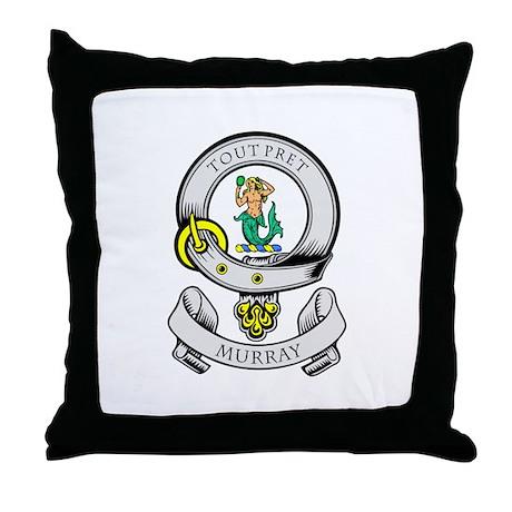 MURRAY Coat of Arms Throw Pillow