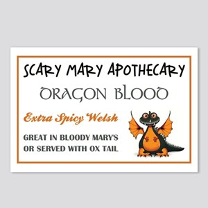 DRAGON BLOOD Postcards (Package of 8)