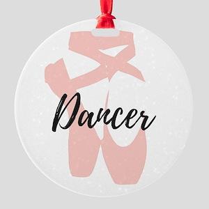 Dancer Round Ornament
